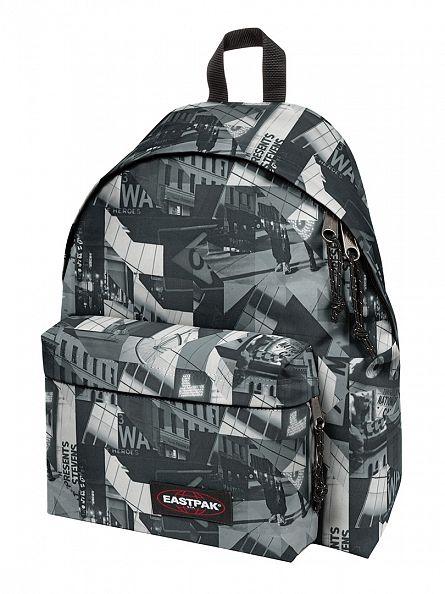 Eastpak Polyon Black Padded Pak R Logo Backpack