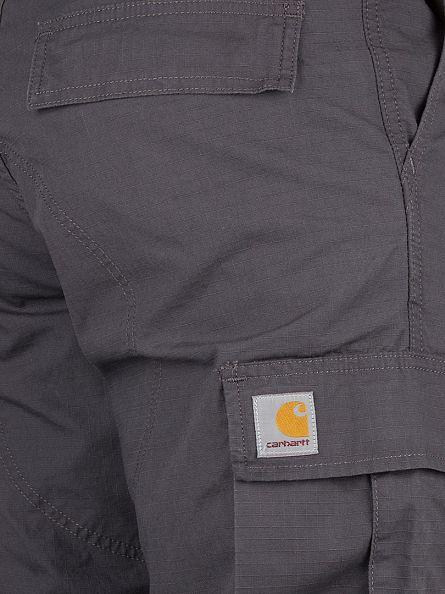 Carhartt WIP Blacksmith Rinsed Regular Logo Cargos
