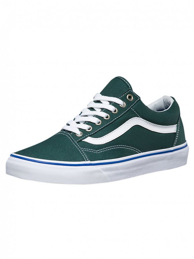 Vans Green Gables/True White Old Skool Trainers