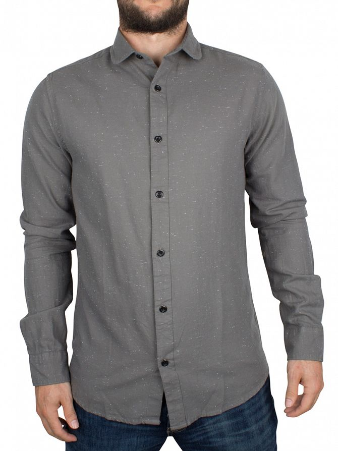Only & Sons Griffin Sejr Slim Fit Flecked Shirt