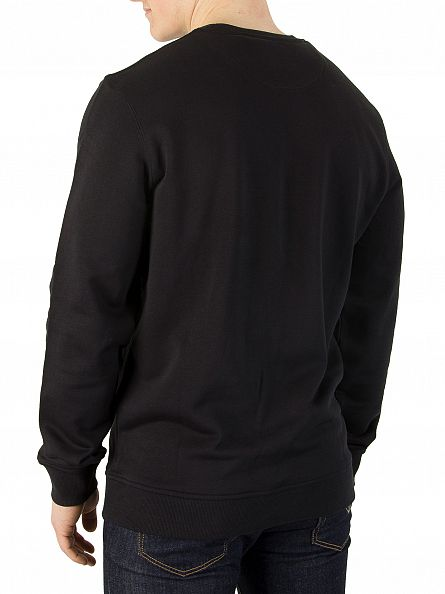 Lyle & Scott True Black Logo Sweatshirt