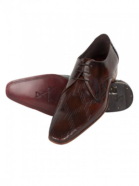 Jeffery West Mid Brown Escoba College Shoes