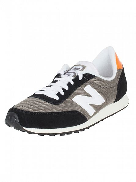New Balance Grey/Black 410 T3 Vintage Trainers