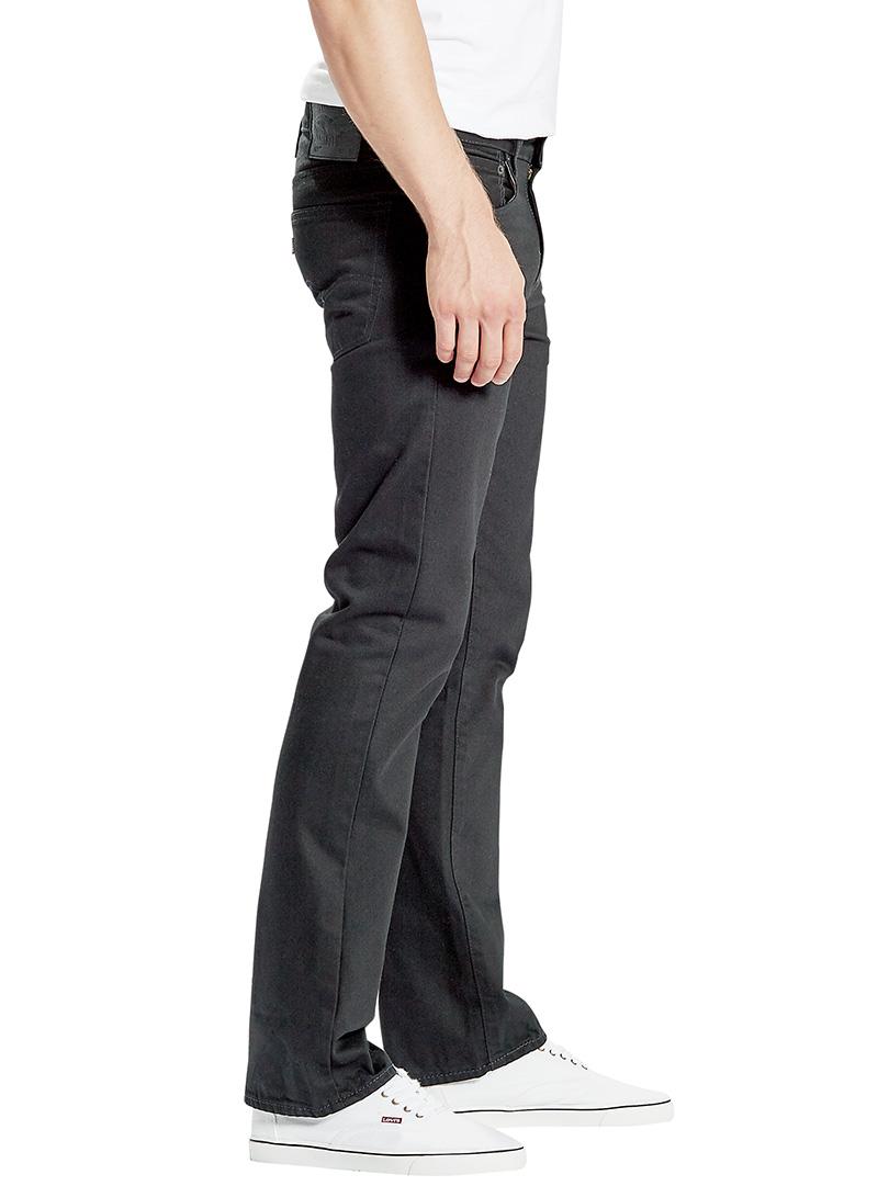 levi 39 s men 39 s 527 slim boot cut original rinse jeans black. Black Bedroom Furniture Sets. Home Design Ideas