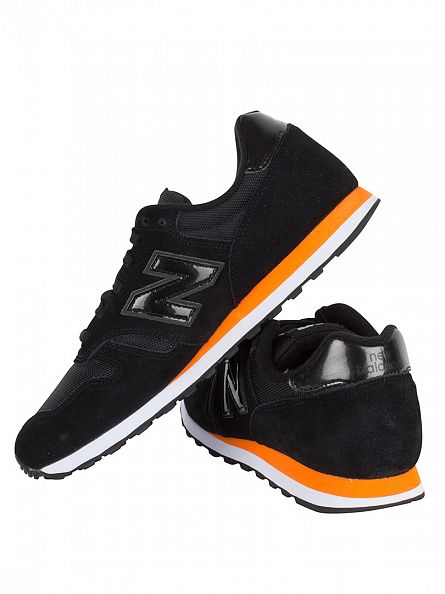 New Balance Black 373 Ballistic Nylon Trainers