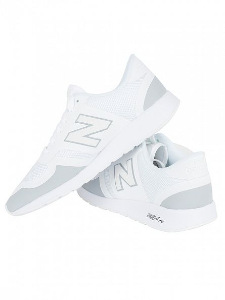 New Balance White 420 T3 Omni Execution Trainers