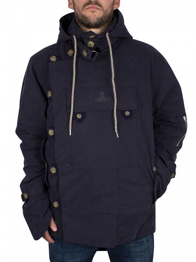 Vivienne Westwood Navy Military Parka Jacket