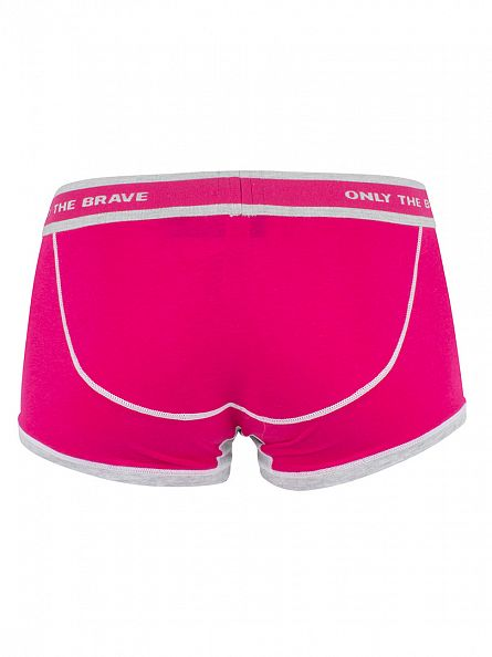 Diesel Pink UMBX Hero Fit Trunks