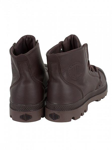 Palladium Black Coffee/Shopping Bag Pampa Hi VL Boots