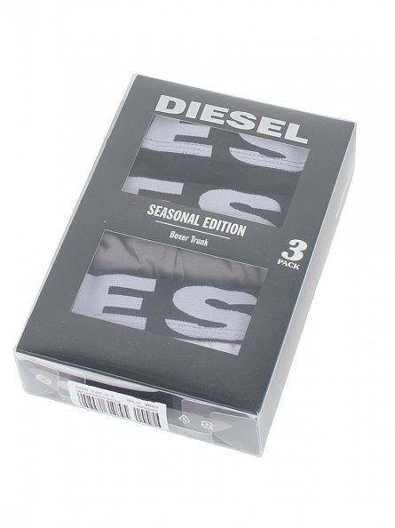 Diesel Grey/Black/White UMBX Shawn 3 Pack Trunks