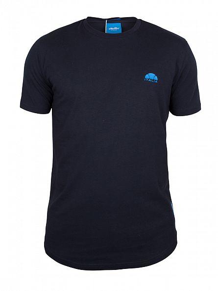 Ellesse Navy Italia Pescara Logo T-Shirt