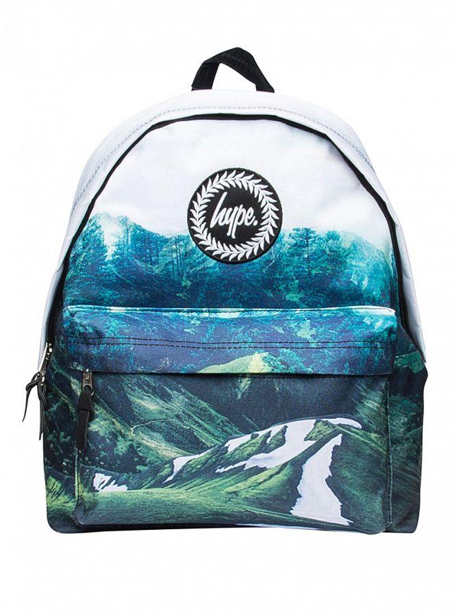Hype Multi Mountain Life Logo Backpack