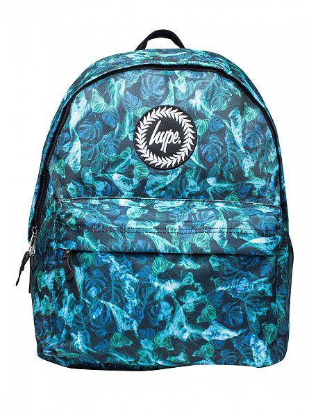 Hype Multi Neon Jungle Logo Backpack
