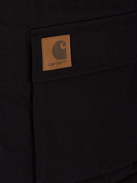 Carhartt WIP Black Mentley Logo Jacket
