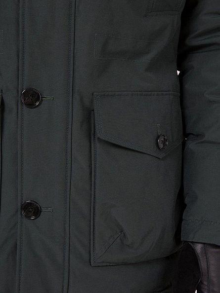 J Lindeberg Black Odin 67 Textured Cony Jacket