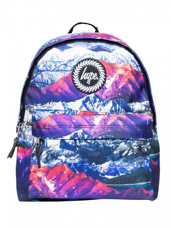 Hype Multi Mountains Logo Backpack