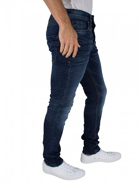 Jack & Jones Blue Denim Slim Fit Tim Original 085 Jeans