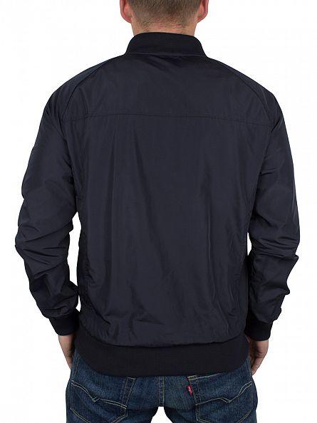 Ellesse Navy Italia Caira Bomber Logo Jacket