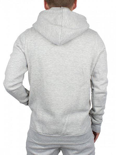Hype Grey/Black Script Logo Zip Hoodie