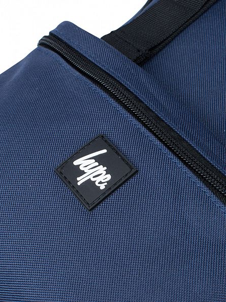 Hype Navy Traveller Logo Backpack