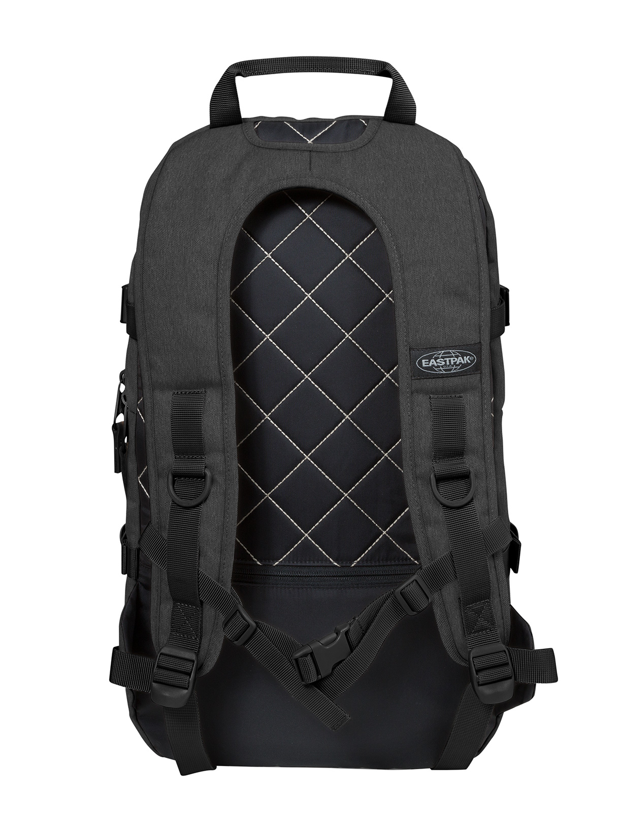 eastpak herren floid logo rucksack grau ebay. Black Bedroom Furniture Sets. Home Design Ideas
