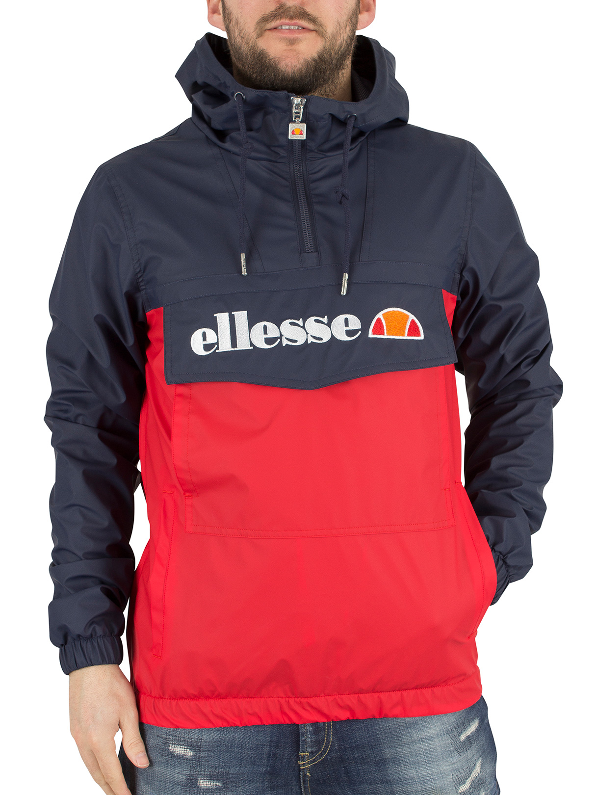 ellesse dress blues true red mont brava logo jacket. Black Bedroom Furniture Sets. Home Design Ideas
