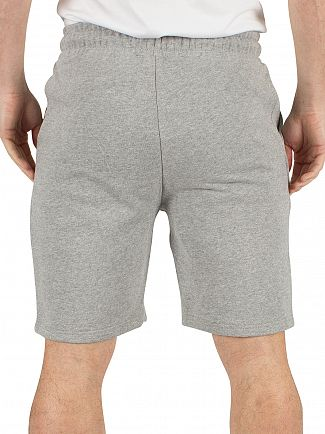 Ellesse Ath Grey Marl Noli Fleece Logo Shorts