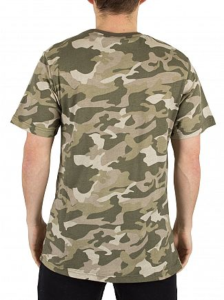 Ellesse Camo Prado Graphic Sublimation T-Shirt