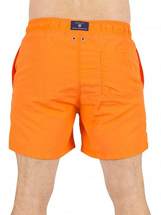 Gant Sunny Orange Logo Swim Shorts