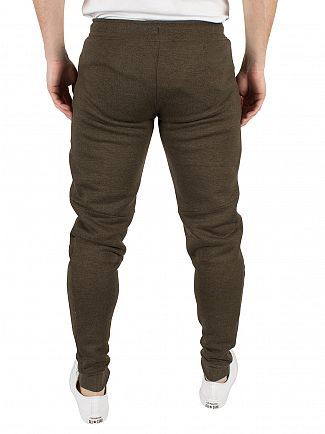 Gym King Olive SNP Performance Logo Joggers
