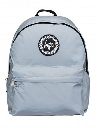 Hype Silver Reflective Backpack