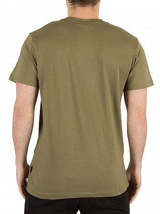 Nicce London Khaki Graphic T-Shirt