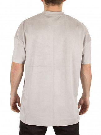 Religion Silver Captive Suedette T-Shirt