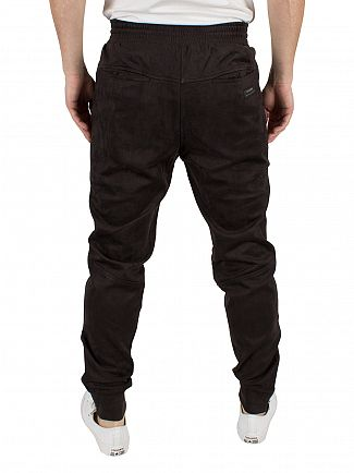 Religion Steel Mercy Suedette Logo Joggers