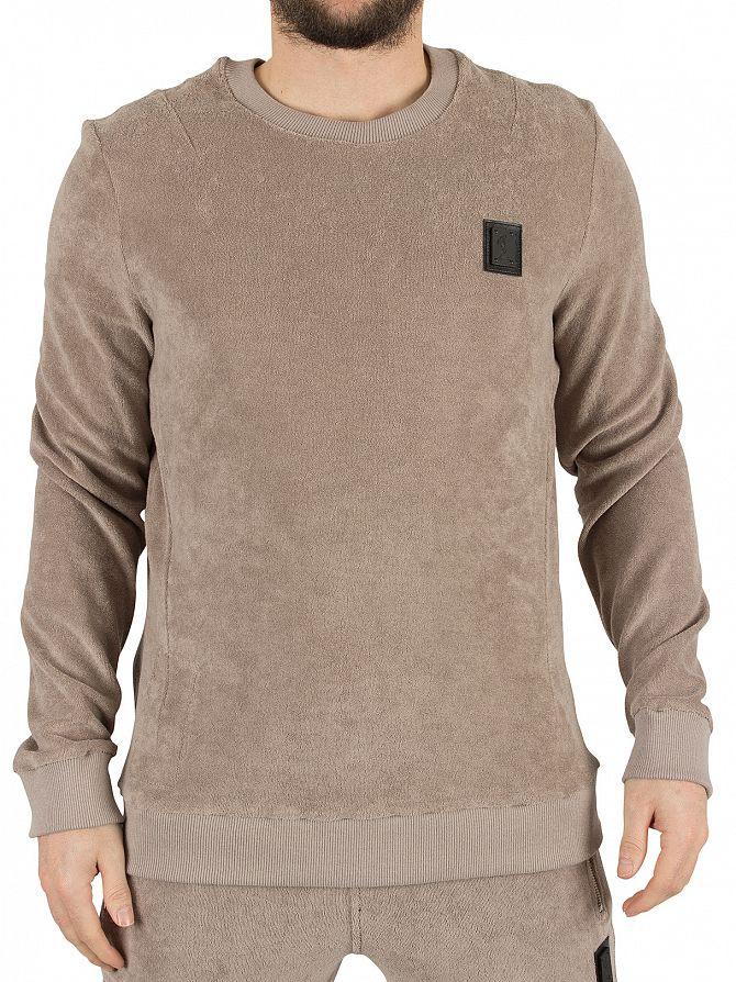 Religion Flint Pool Loopback Terry Logo Sweatshirt