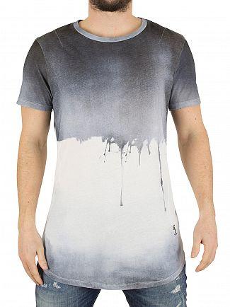 Religion Blue Soft Drip Logo T-Shirt