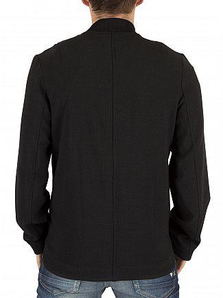 Religion Navy/Black Tracky Woven Raglan Bomber Jacket