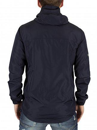 Superdry Nautical Navy New Dual Zip Cagoule Jacket