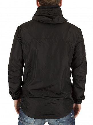 Superdry Black New Dual Zip Cagoule Jacket