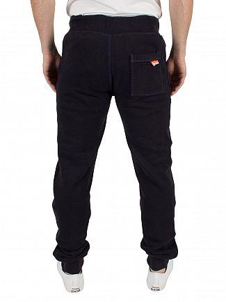 Superdry Truest Navy Orange Label Slim Fit Joggers