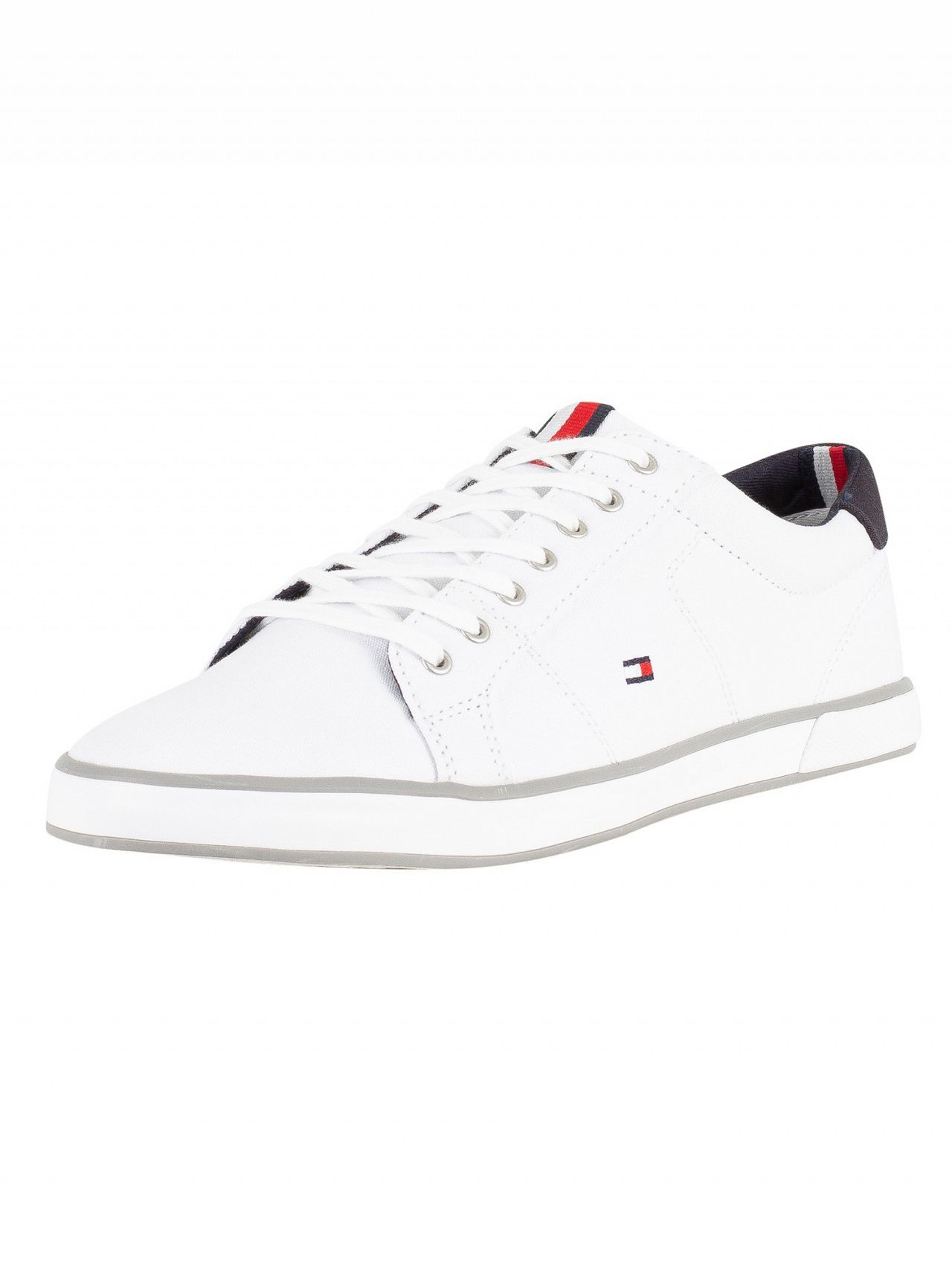 64fbfbfe95dbdb Tommy Hilfiger White Flag Trainers. Tap to expand
