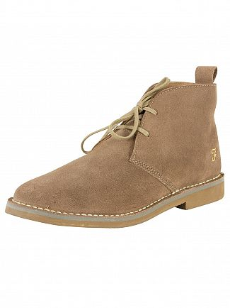 Farah Vintage Sand Lozza Suede Shoes