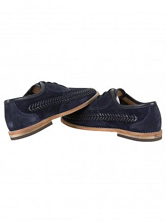 H by Hudson Navy Anfa Suede Shoes