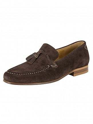 H BY HUDSON BROWN BERNINI SUEDE SHOES