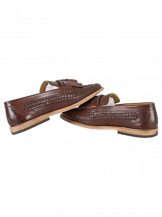 H by Hudson Cognac Zair Calf Shoes