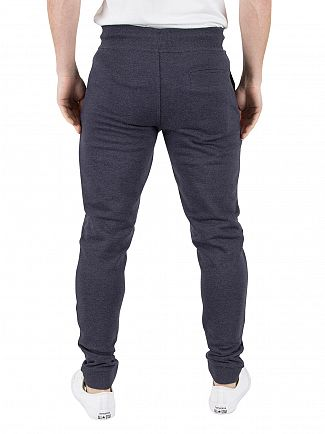 Tommy Hilfiger Denim Black Iris Heather Basic Rib Hknit Joggers