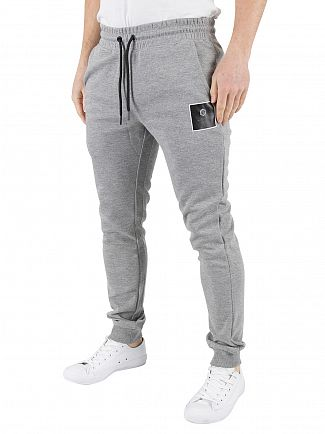 Jack & Jones Light Grey Melange Radical Logo Joggers
