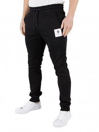 Jack & Jones Black Radical Logo Joggers