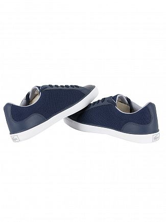 Lacoste Navy Lerond S117 1 JD SPM Trainers