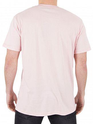 Nicce London Pink Chest Logo T-Shirt